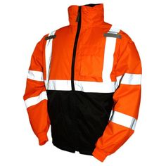 Motorcycle Safety = $49 @Overstock.com.com - Bomber II two - a unique fluorescent design keeps U highly visible during the daytime & nighttime. Jacket has an incredibly comfortable fit. Also in Hi Viz Yellow.