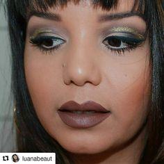 #Repost @luanabeaut with @repostapp  ・・・  Acabei de liberar o vídeo dessa maquiagem que é super tendência, vem assistir: https://www.youtube.com/watch?v=rvRP7Gp1w98  .  .  .  .  #Maquiagem #MakeUp #CutCrease #Tendencia #TBlogs #BatomAmandaPontes #Tutorial #Blog #Vídeo #Blogueira #Beauty