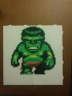 Hulk hama perler beads by Hama Hobby