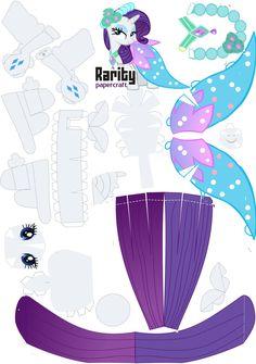 PaperCraft Rarity Royal Wedding by oskarek11.deviantart.com on @deviantART