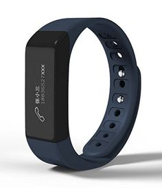 I5 Plus Smart Bracelet Bluetooth 4.0 Led Wristband Sport Wrist with Fitness Tracker Pedometer Calorie Health Sleep Monitor for iOS iPhone iPad Samsung Galaxy, Nexus, HTC and Other Smart Phones ** Check this awesome product by going to the link at the image.