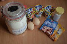 Pribináčikové šišky (fotorecept) - obrázok 1 Cereal, Eggs, Breakfast, Food, Morning Coffee, Essen, Egg, Meals, Yemek