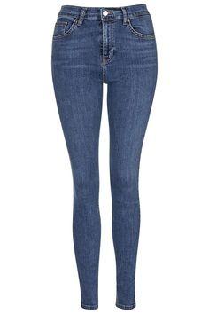 Photo 1 of MOTO Mid-Blue Jamie Jeans