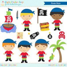 pirates clipart digital clip art boys - Pirate Boys Clip Art - BUY 2 GET 2 FREE Pirate Boy, Ahoy Matey, Story Stones, Painted Rocks, Flag, Snoopy, Clip Art, Kids Rugs, Digital