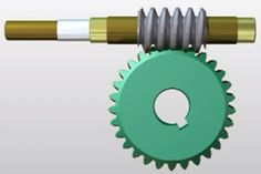 Worm Gear  Definition Working & Applications