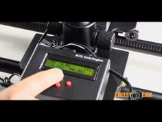 Dynamic Perception Stage One Motorized Motion Control Time Lapse Slider - YouTube