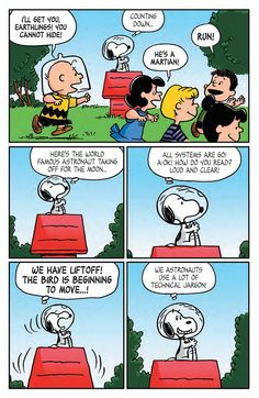 Preview: Peanuts: The Beagle Has Landed, Charlie Brown! TPB, Page 11 of 11 - Comic Book Resources