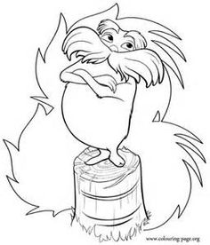 dr seuss the lorax coloring pages 7 free printable coloring pages