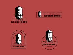 Round Rock designed by Jay Master . Connect with them on Dribbble; the global community for designers and creative professionals. Creative Typography, Typography Design, Round Rock Texas, Texas Usa, Rock Design, Identity Design, Logo Branding, Logos, Grape Vines