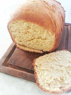 Pan de polenta en máquina de pan