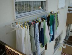 My Apartment Clothesline Photo Of The Exterior Attached