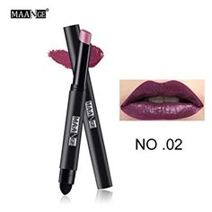MAANGE Official Store MAANGE Matte Lipstick Pen Nude Waterproof Lip Stick Makeup Double end Moisturizer Lipstick Gloss Silky Red Sexy Beauty Cosmetic-in Lipstick from Beauty & Health Matte Lip Gloss, Gloss Lipstick, Lipstick Colors, Lip Colors, Cheap Lipstick, Waterproof Lipstick, Perfect Lips, Sexy Makeup, How To Line Lips