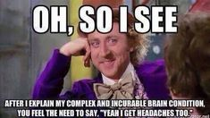 Make funny memes with meme maker. (Top Funny Memes - generate and share your own! gene-wilder tell-me-again-why-you-have-no-sales The Life, Way Of Life, Rage Comics, Ford Jokes, Ford Humor, Narrativa Digital, Bozo, Chiari Malformation, Pharmacy Humor