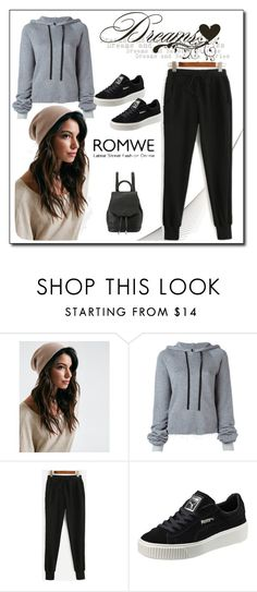 """""""ROMWE"""" by woman-1979 ❤ liked on Polyvore featuring Unravel, Puma and rag & bone"""