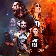 Beast Slayer and The Man Wwe Seth Rollins, Seth Freakin Rollins, Becky Lynch, Becky Wwe, Chris Benoit, Wwe Couples, Eddie Guerrero, Paige Wwe, Rebecca Quin