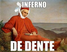O inferno de Dante rs
