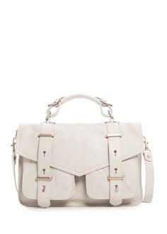 MANGO - TOUCH - Sac satchel cuir