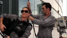 """Burn Notice 5x15 """"Necessary Evil"""" - Michael Westen (Jeffrey Donovan) & Fiona Glenanne (Gabrielle Anwar)"""