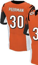"$78.00--Cedric Peerman Orange Elite Jersey - Nike Stitched Alternate Cincinnati Bengals #30 Jersey,Free Shipping! Buy it now:click on the picture, than click on ""visit aliexpress.com"" In the new page."
