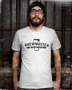 Brewmaster  Homebrew Craft Beer TShirt Mens Design T by Bluemripat, $16.98