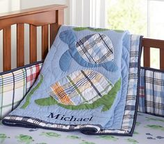 PB turtle nursery bedding-This would be perfect too. This isn't for sale either. So bummed! Madras Nursery, Boy Nursery Bedding, Cute Quilts, Boy Quilts, Turtle Nursery, Turtle Quilt, Tortoise Turtle, Turtle Love, Baby Turtles