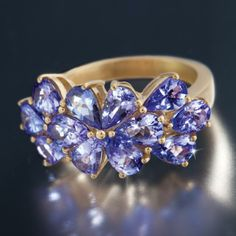 Saintpaulia Tanzanite Ring w6421 | Stauer.com
