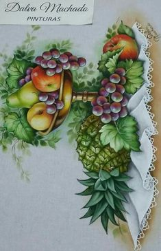 Stencil Patterns, Art N Craft, Christmas Embroidery, Fruit Art, Art Classroom, Fabric Painting, Illustrations Posters, Decoupage, Diy And Crafts