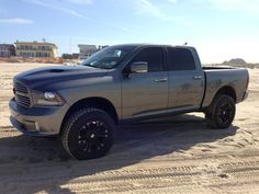 Dodge Ram 2014 Lifted Black   All Car   Car Picture