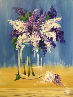 best canvas pics to paint at a party Summer Painting, Diy Painting, Painting & Drawing, Guache, Paint Party, Learn To Paint, Art Plastique, Painting Inspiration, Flower Art