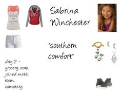 """""""Sabrina Winchester Worlds Colliding (Supernatural) 8.06 """"Southern Comfort"""""""" by mysticfalls1997 ❤ liked on Polyvore featuring maurices, Ettika, Mudd, Lonna & Lilly, Pieces, LE3NO and Converse"""