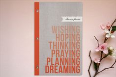 Lovely personalized journals for a cool holiday gift.