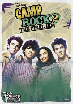 """Camp Rock 2: The Final Jam (2010)  It's a true battle of the bands as tunefully gifted campers Mitchie (Demi Lovato), Shane (Joe Jonas), Jason (Kevin Jonas) and Nate (Nick Jonas) return to Camp Rock and discover that some of their best talent has been snatched up by rival Camp Star, where some serious musical muscle (Matthew """"Mdot"""" Finley) rules the roost. Meanwhile, a Shakespearean love triangle complicates camp life as campers once again vie for the top spot at Final Jam."""