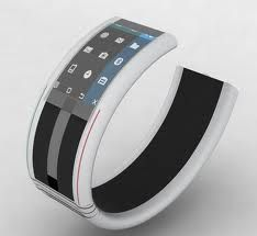 Bracelet cell phone - cool concept!
