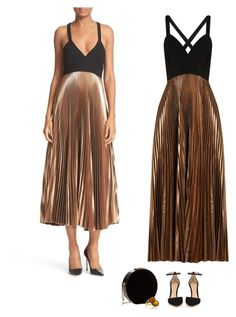 """Untitled #3611"" by audrey-balt ❤ liked on Polyvore featuring A.L.C., Gianvito Rossi and Elie Saab"