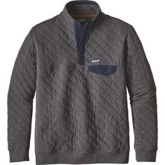 Some mornings involve sleeping in and grabbing brunch, while others call for crack-of-dawn climbing starts, but one constant no matter what's on the agenda is the Patagonia Men's Cotton Quilt Snap-T Fleece Pullover. This lightweight and stretchy jacket is built to keep up with your outdoor adventures, and its retro styling ensures it doesn't look out of place in the city.