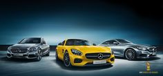 """Hat-trick for the Mercedes-Benz C-Class, Mercedes-AMG GT and the S-Class Coupé at the """"World Car Awards 2015""""."""