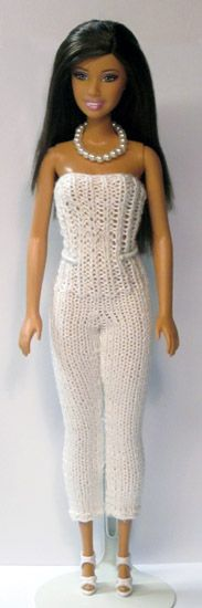 Barbie Strapless Jumpsuit