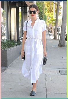 Why the white shirt dress is your new go-to