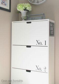 Ikea stall shoe cabinet hallway pinterest for Idee semplici di mudroom
