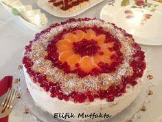 5 Çayı Meyveli Pasta | Elifik Mutfakta