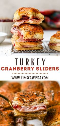 Thanksgiving Leftovers, Thanksgiving Recipes, Holiday Recipes, Holiday Foods, Baked Rolls, Slider Recipes, Turkey Sandwiches, Sweet Potato Casserole, Dinner Is Served