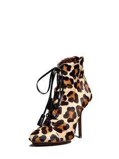 High Heel Lace Up Bootie by Emilio Pucci at Gilt.... Yes, Please !