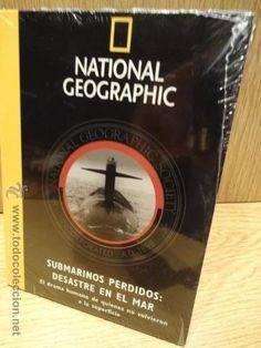SUBMARINOS PERDIDOS: DESASTRE EN EL MAR. ED / NATIONAL GEOGRAPHIC. DVD PRECINTADO.