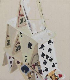 ohne Titel, 2010, 40 x 35 cm, oil on cotton