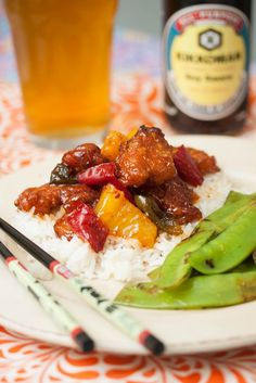 Sweet & Sour Chicken | Tide and Thyme