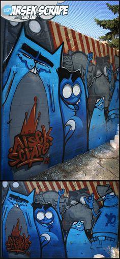 The Rebellion by szc - Inspirational Post 7 Street Art Graffiti For the Win