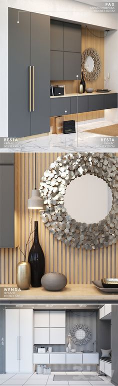 Description MAX file – 28 Mb In the FBX file – objects under smoothing separa … - Eingang Wardrobe Door Designs, Wardrobe Doors, Modern Kitchen Cabinets, Kitchen Cabinet Design, Small Bedroom Furniture, Bedroom Decor, Display Cabinets Ikea, Entrance Hall Decor, Entry Hall