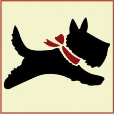 The Artful Stencil, Scottie 2 Stencil, x -- 10 mil Mylar, walls, pillows and sign painting Dog Stencil, Stencils, Painted Signs, Painted Rocks, Felt Dogs, Silhouette Art, Felt Animals, Dog Art, Just In Case
