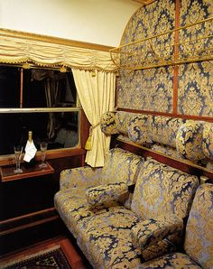 Majestic Imperator - Elisabeth Salon, compartments by Train Chartering & Private Rail Cars, via Flickr