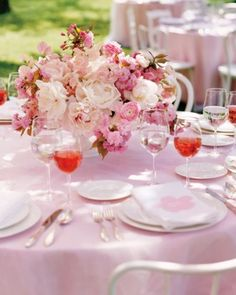 """See the """"Cherry Blossom Centerpiece"""" in our  gallery"""